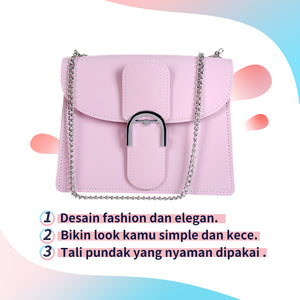 Tas Selempang Tas Wanita Fresh Macaroons Series Crossbody Bag