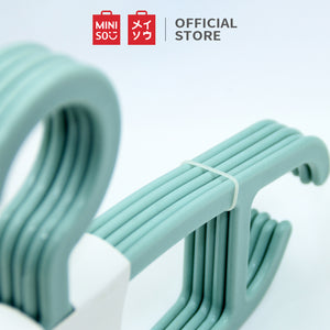 Miniso Official 5 PCS Simple multipurpose clothes hanger, Hanger Baju / hanger pakaian