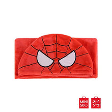 Load image into Gallery viewer, MINISO MARVEL Selimut homeliving lucu Spider man/ Iron Man/ Hulk/ Captain America