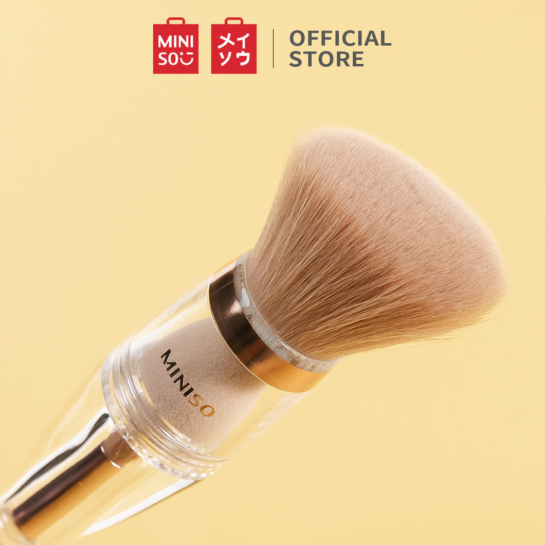 MINISO Kuas Makeup Brush Sponge Foundation Kontur Blending 3 in 1 - LIVESTREAM