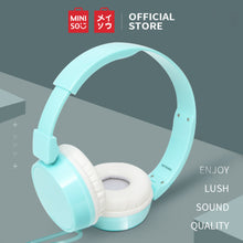 Load image into Gallery viewer, MINISO Headset Earphone Headphone  Gaming Dilipat Original Stereo Kebisingan Membatalkan Portable Simple