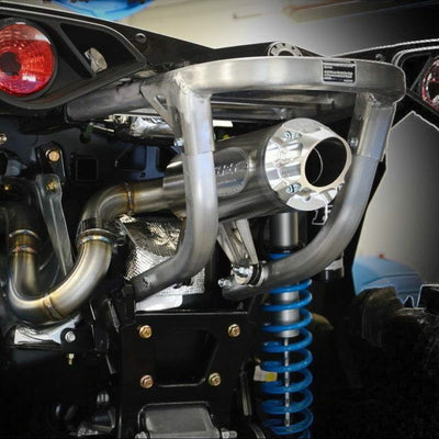RJWC Can Am Renegade Centered Single Slip-On Exhaust