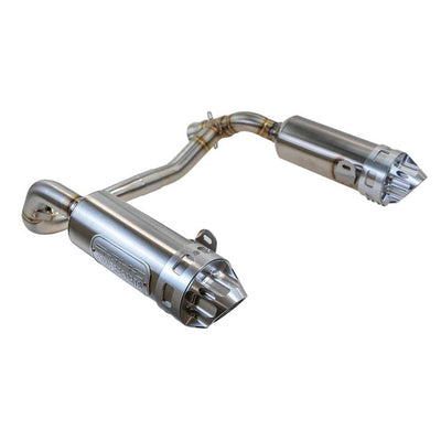 RJWC Polaris Sportsman XP Split Dual Slip-On Exhaust