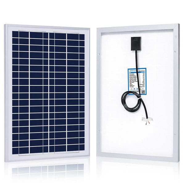 Poly Solar Panel 25W / 12V - Most Cost Effective