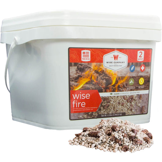Wise Fire 2 Gallon Bucket - Fire Starter