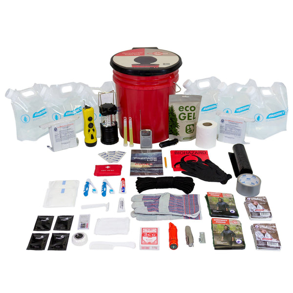 Complete Hurricane Survival Kit for 2 People