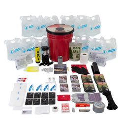 Complete Hurricane Survival Kit for 4 People