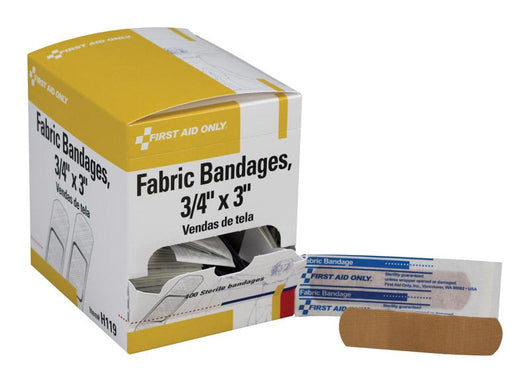 First Aid Only  - Fabric Bandages  - 100 Pack