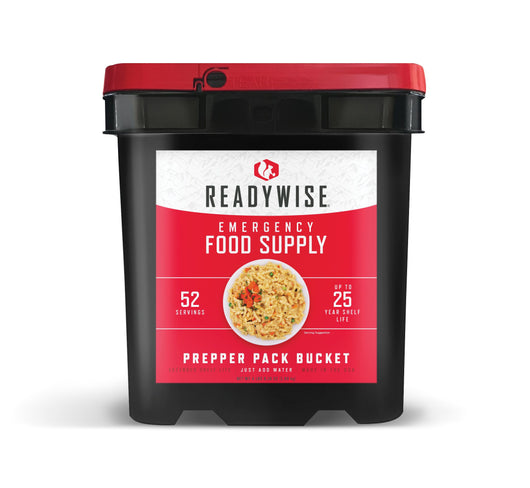 Prepper Pack Bucket from Readywise - 52 Servings