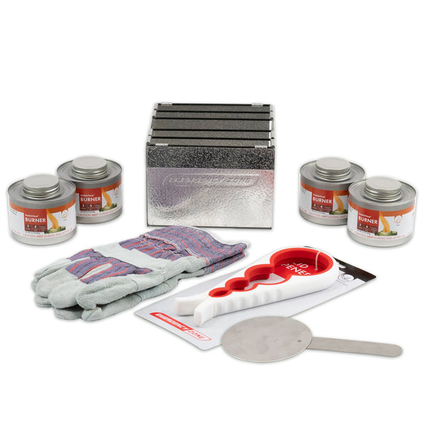 Emergency StableHeat Fuel Storage Set with Stove - 4/12/24 Cans