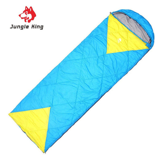 Windproof Sleeping Bag by Jungle King for Camping Comfort