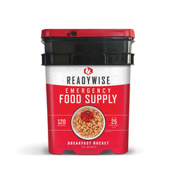 Breakfast Bucket from Readywise - 120 Servings