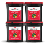 Freeze Dried Vegetable Bucket from ReadyWise - 120 Servings