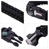 Paracord Survival Bracelet - 5 in 1 Multi-Functions