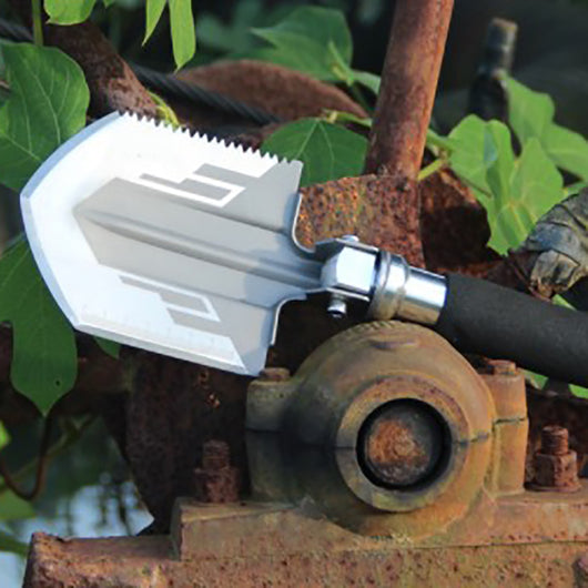 foldable survival shovel