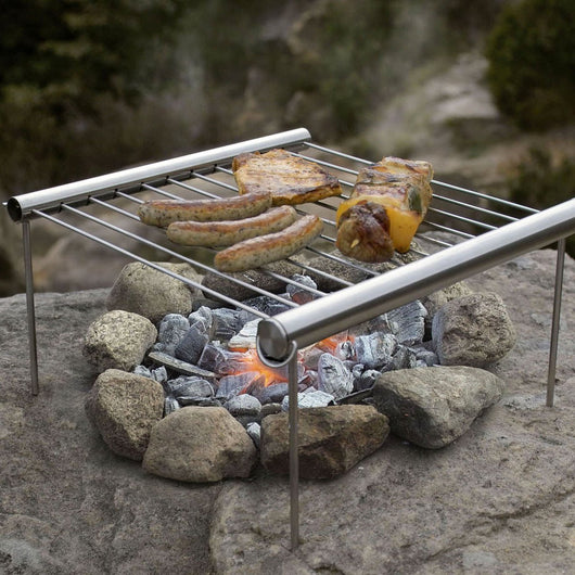 Portable Camping Grill by Grilliput - Simple and Elegant