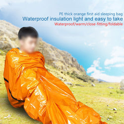 Outdoor Emergency Sleeping Bag for Camping or First Aid