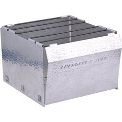 Fold Flat Aluminum Stove - A Reliable Camp Site Cook Stove
