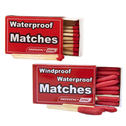 Waterproof and Wind/Waterproof Matches - Pack of 5