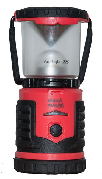 Mons Peak IX Arc Light 225 LED Lantern - AA Batteries