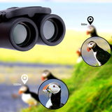 Compact Long Range Zoom Binoculars - BAK4 FMC Optics