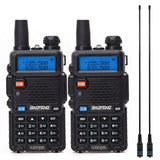 Baofeng BF-UV5R Amateur Radio Portable Walkie Talkie - 2 Pieces