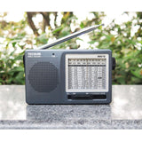 TECSUN FM/AM/SW 12 Band Portable Pocket Style High Sensitivity Radio