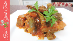 Greek Eggplant and Orzo Stew