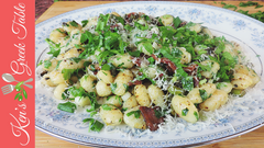 Gnocchi with Bacon & Asparagus