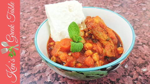 Greek Lamb & Chickpea Stew