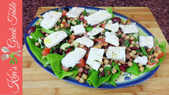 Greek Mixed Bean Salad