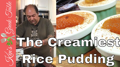 Greek Rice Pudding