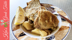 chicken & lemony oregano potatoes