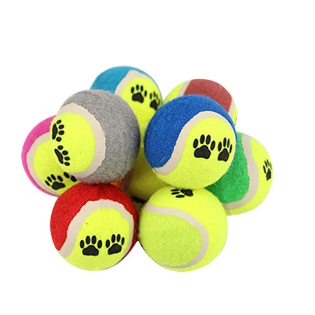 Pet Dog Cat Ball Toy Dog Rubber Chew