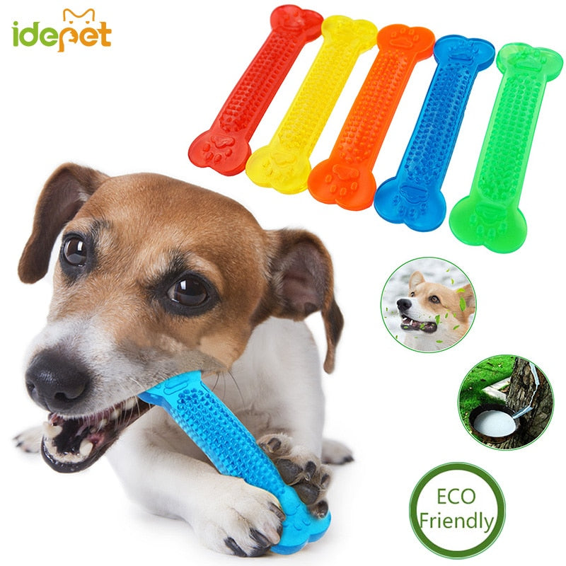 Dog Toys Pet Molar Tooth Cleaner Brushing Stick