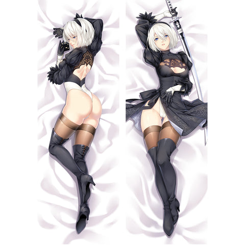 Nier: Automata Body Pillow Case Cover APRG NieR:Automata No.2 B Uncensored Dakimakura | WaifuHeaven Dakimakura France