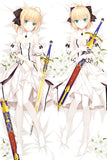 Dakimakura Saber (Arturia Pendragon). Fate Stay Night | WaifuHeaven Dakimakura France