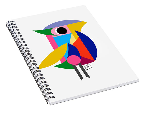 360 - Bird - Spiral Notebook