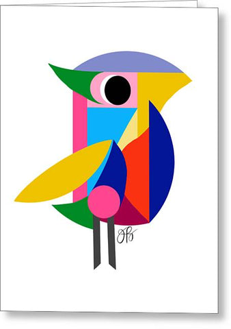 360 - Bird - Greeting Card