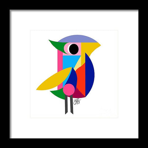 360 - Bird - Framed Print