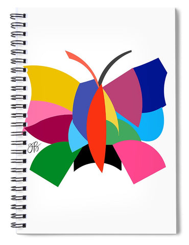 360 - Butterfly - Spiral Notebook