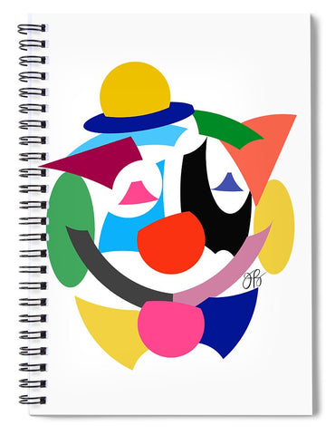 360 - Clown - Spiral Notebook
