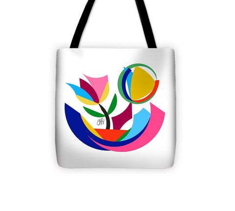 360 - Flowers - Tote Bag