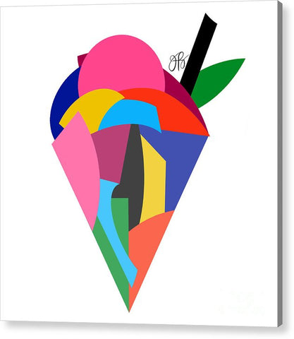 360 - Ice Cream - Acrylic Print
