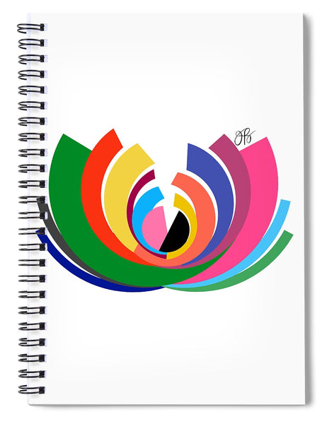 360 - Lotus - Spiral Notebook