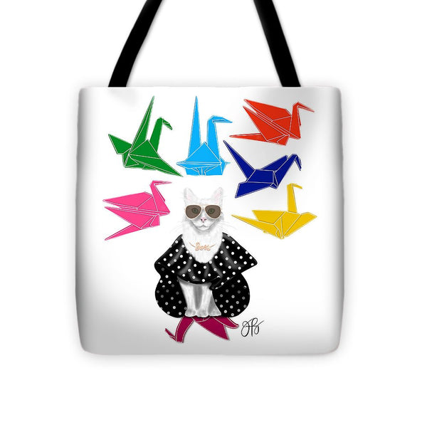 Boss Babe Origami Birds - Tote Bag