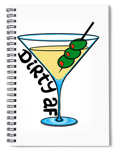 Dirty Martini - Spiral Notebook