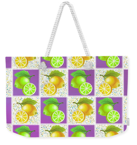 Lemon Crush - Weekender Tote Bag