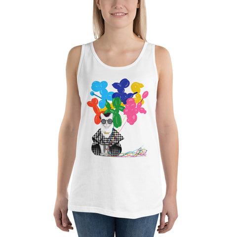 Boss Babe Balloon Dog Tank Top