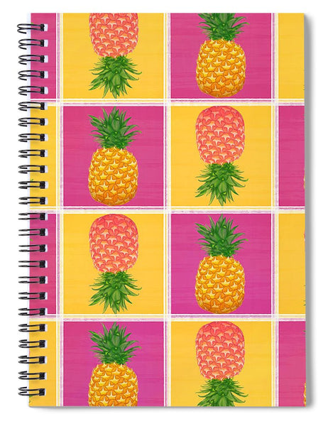 Pineapple Crush - Spiral Notebook